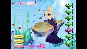 Barbie Mermaid Tale Dress Up Game Barbie Mermaidia Dress