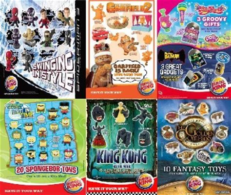Amazon Com Burger King The Lord Of The Mcdonalds Toys Burger King Toys Home