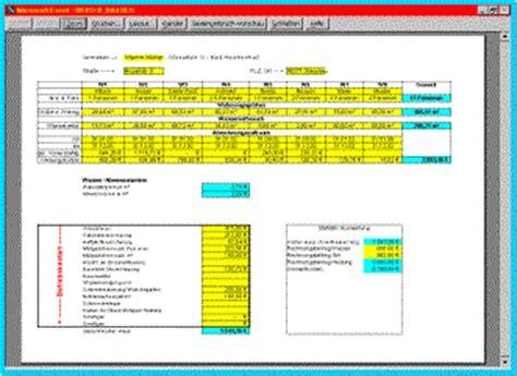 excel betriebskostenabrechnung betriebskosten
