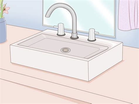 install a kitchen sink how to replace a bathroom sink 14 steps with pictures 4709