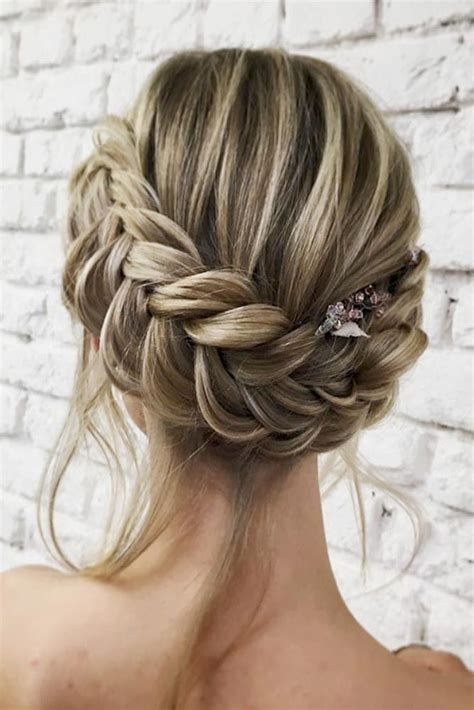 Updo Hairstyles With Braid by 60 Sophisticated Prom Hair Updos Hair Hair Hair