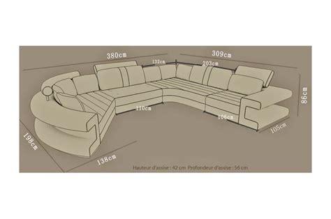 canapé d angle convertible beige canapé d 39 angle panoramique toulouse en cuir italien design