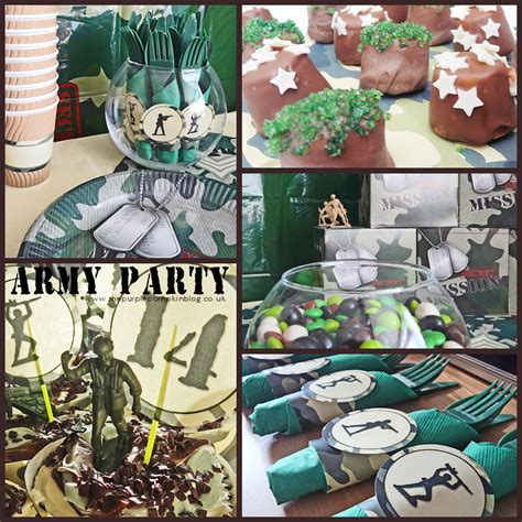 Bringing It All Together  Army Themed Party » The Purple