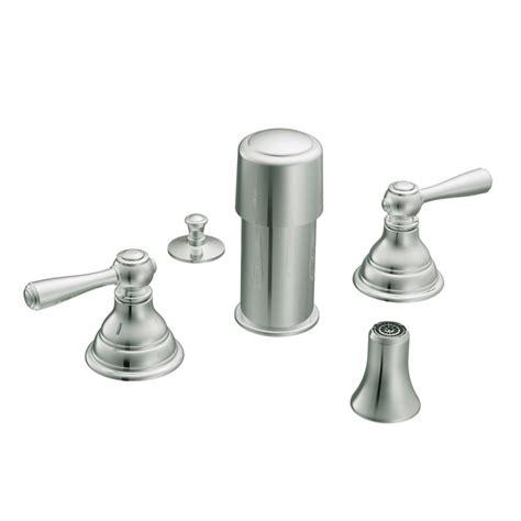 moen kingsley bidet faucet only in chrome the home depot