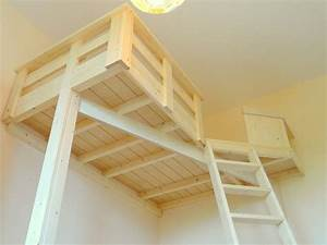Kinderbett Unter Dachschräge : ber ideen zu hochbett selber bauen auf pinterest ~ Michelbontemps.com Haus und Dekorationen