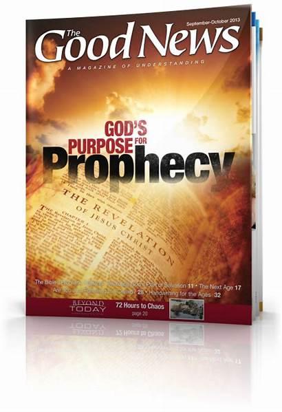 Magazine October September Prophecy God Matthew Church