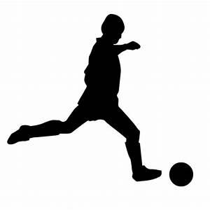Der Fußballer - Hot and Cool - AUTOAUFKLEBER