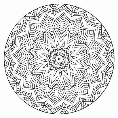 Coloring Mandalas Calm Volume Mandala