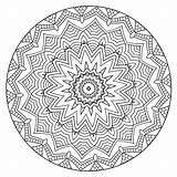 Coloring Mandalas Calm Volume Mandala sketch template