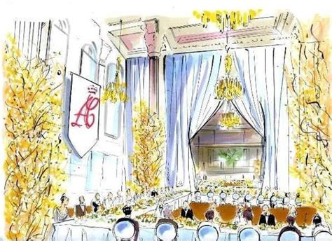 Sketches of the Upcoming Princely Wedding in Monaco The