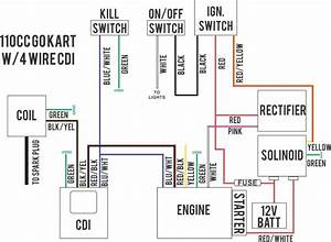 Gy6 Wiring Diagram Lovely Excellent 4 Pin Cdi Ideas For