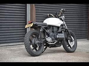 Bmw K100 Scrambler : bmw k75 scrambler brat bike loud youtube ~ Melissatoandfro.com Idées de Décoration