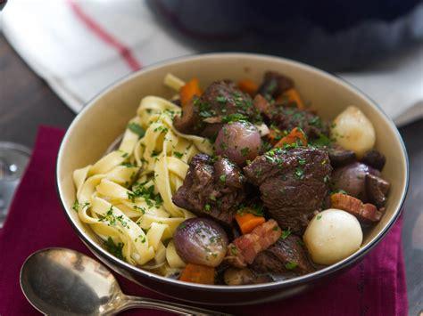 cuisine boeuf bourguignon beef bourguignon