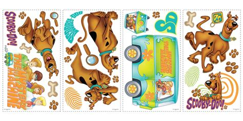 Scooby Doo Removable Decals