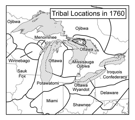 Some Notes On Mapping Indigenous Peoples In Wisconsin An