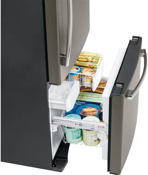 bottom drawer freezer ge gde20gshss 30 inch bottom freezer refrigerator with 20