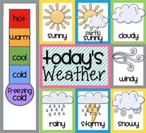 bits of grade freebie 4 weather homeschool 835 | dafa3beb747c00710473106afda2e480 preschool weather chart weather charts