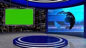 News TV Studio Set 60