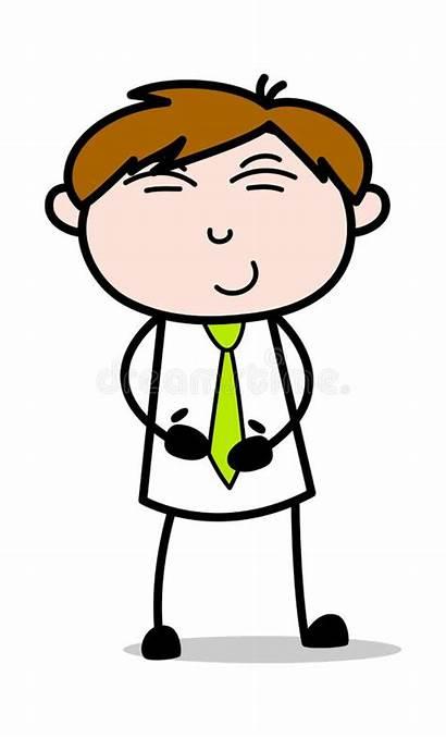 Tummy Cartoon Employee Salesman Office