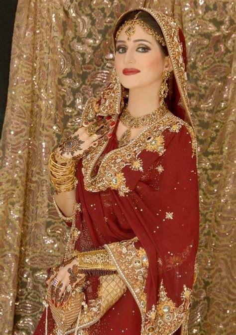 pakistaniindian red  gold bridal lehenga pakistani