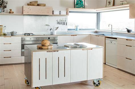kitchen island with wheels 50 modern scandinavian kitchens that leave you spellbound 5232