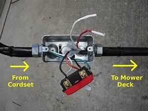 Nick Viera  Electric Lawn Mower Switch Repair