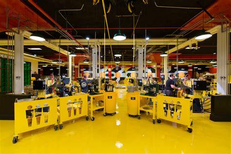 photos inside the third records vinyl pressing plant