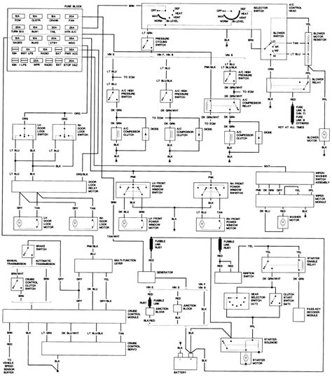1989 Mercury Wiring Diagram by 89 Mercury Grand Marquis Engine Diagram