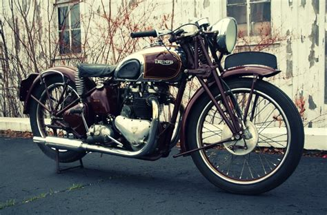 Triumph Speed 1938 by Steve Mcqueen S 1938 Triumph Speed Silodrome