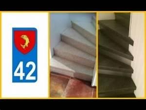 Recouvrir Marche Escalier : recouvrir marches d 39 escalier loire 42 youtube ~ Premium-room.com Idées de Décoration