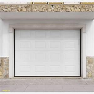 porte garage lapeyre inspirant porte de garage With porte de garage sectionnelle avec portillon lapeyre