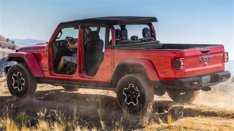 jeep gladiator rubicon limited prices revealed autopromag