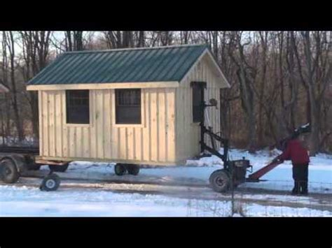 Mule V Shed Mover by Mule Delivery By Horizon Structures