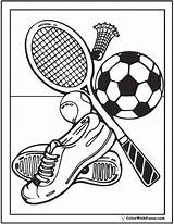 Coloring Sports Pages Field Sheets Track Printable Adults Teams Court Pdf Teachtown Getdrawings Template Getcolorings Colorwithfuzzy sketch template