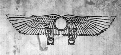 winged sun disk horns sun   ojays