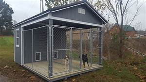 Dog kennels for Red barn dog kennel