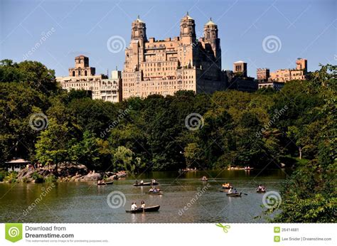 Central Park Boating Times by Nyc Central Park Boating Lake Editorial Photo Image