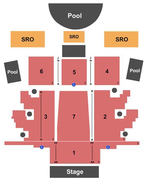 concert venues  las vegas nv concertfixcom