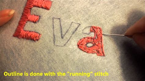 basics  hand embroidery youtube