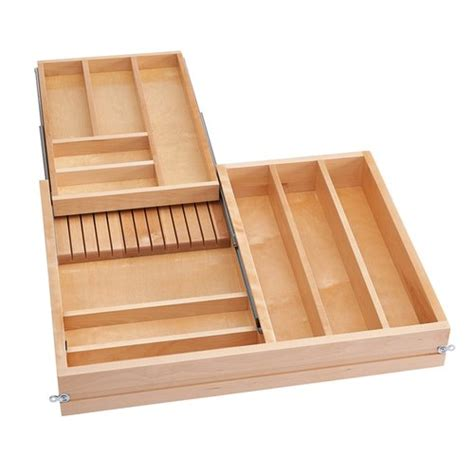 kitchen cabinet drawer inserts rev a shelf 4wtcd soft combination drawer 36 5378