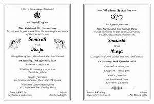Hindu wedding invitation wordings for Images of hindu wedding invitations