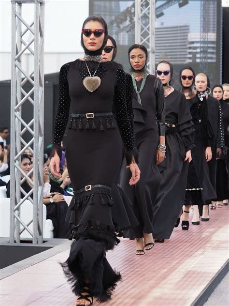 dubai s first ever modest fashion week draws to a spectacular