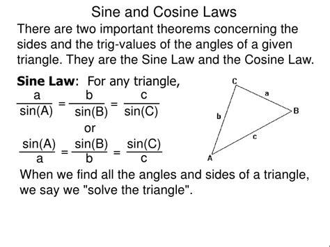 43sineandcosinelawinversetrigfunctions11728jpg (728×546)  Mathematics Pinterest