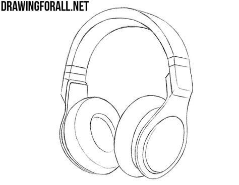 how to phones how to draw headphones drawingforall net