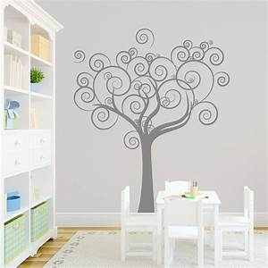Wall decal whimsical tree wall decal ideas for home decor for Whimsical tree wall decal ideas for home decor