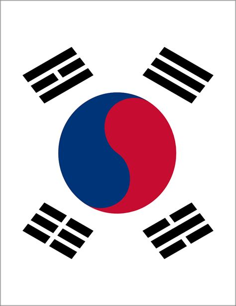 south korea flag full page - /flags/Countries/S/South ...