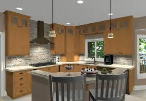 kitchen island layouts and design l shaped kitchen with island ideas