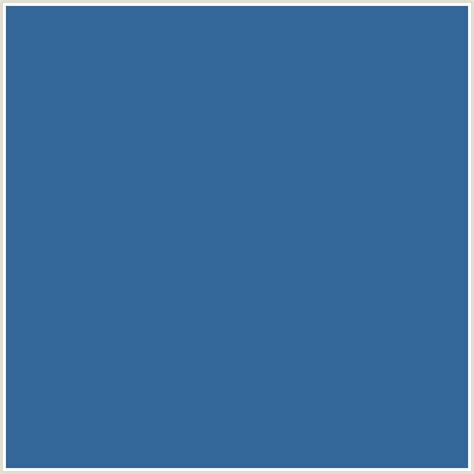 336699 hex color rgb 51 102 153 azure blue