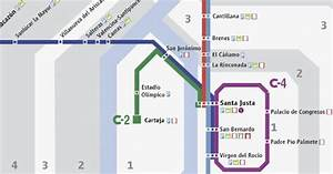 Seville Train Map 2017