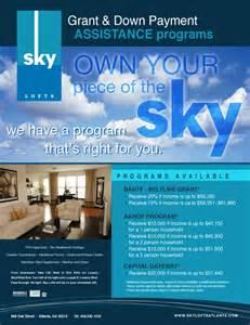Down Payment Assistance Program Flyer